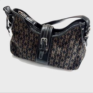 Fossil Monogram Canvas purse